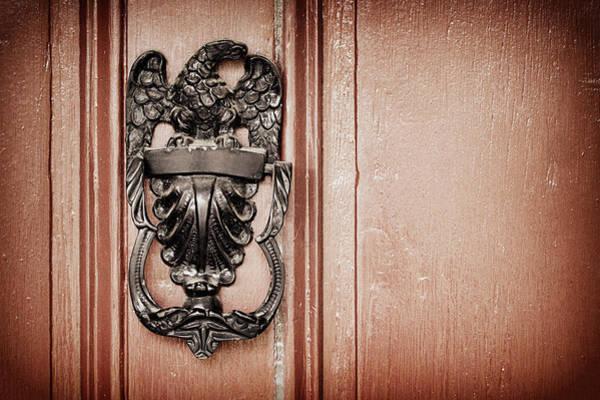 Timeworn Photograph - Eagle Door Knocker by Joseph Skompski