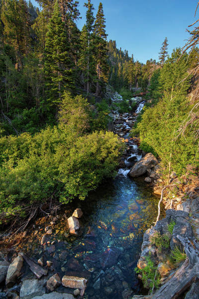 Photograph - Eagle Falls - 1 by Jonathan Hansen