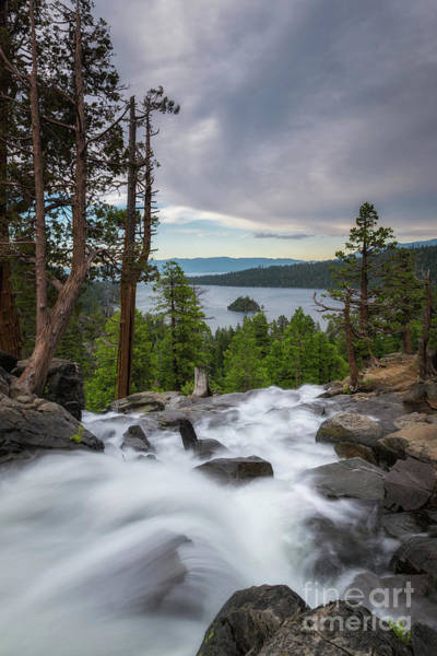 Photograph - Eagle Falls And Emerald Bay by Michael Ver Sprill