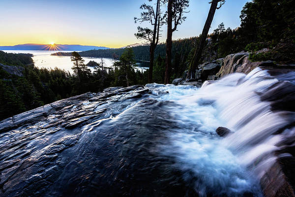 Photograph - Eagle Falls At Emerald Bay by John Hight