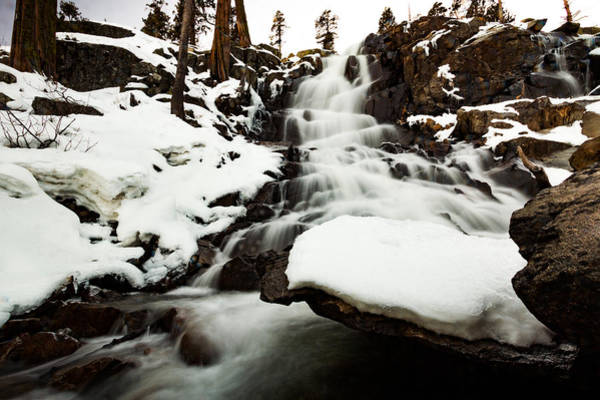 Lightroom Photograph - Eagle Falls Raging On Ice by Mike Herron