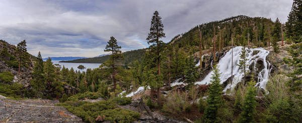 Wall Art - Photograph - Eagle Falls Spring Rage Into Emerald Bay by Mike Herron