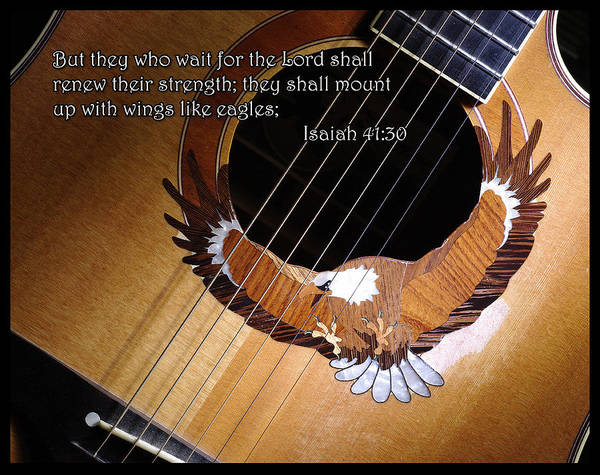 Photograph - Eagle Guitar by Jim Mathis
