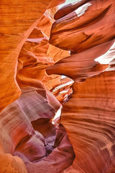 Wall Art - Photograph - Eagle Head - Antelope Canyon by Andreas Freund