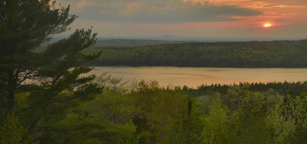 Wall Art - Photograph - Eagle Lake Sunset by Stephen  Vecchiotti