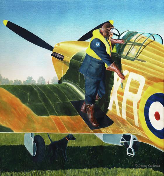 Painting - Eagle Pilot by Douglas Castleman