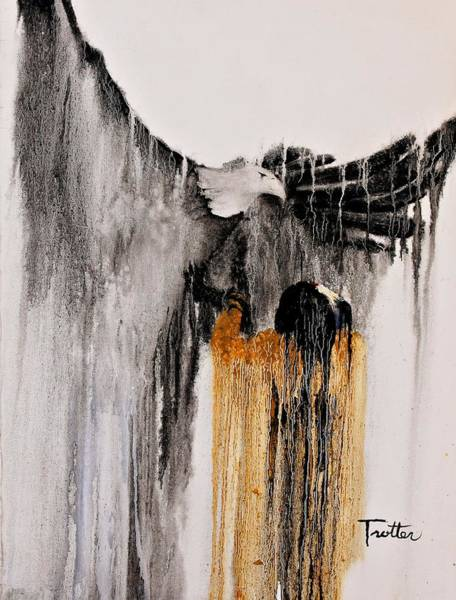 Native American Culture Painting - Eagle Spirit by Patrick Trotter