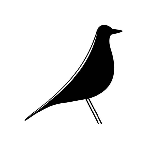 Digital Art - Eames Bird  by Donna Mibus