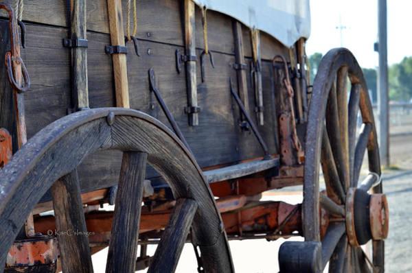 Wall Art - Photograph - early 1900s Farm Wagon by Kae Cheatham