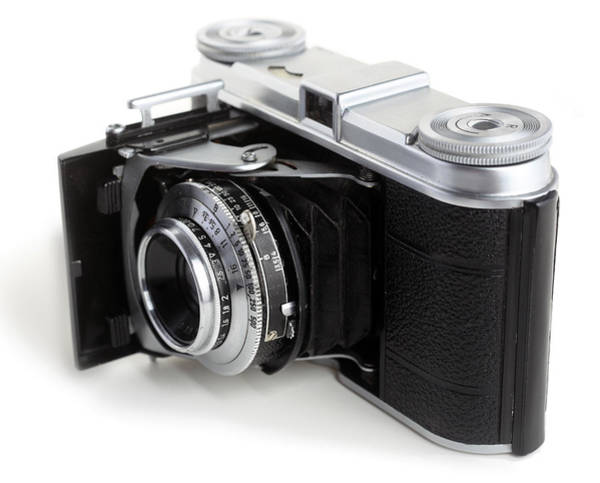 Photograph - Early 35mm Film Camera by Paul Cowan