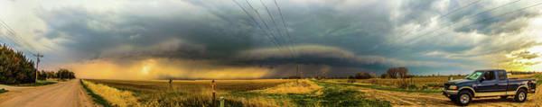 Photograph - Early April Nebraska Thunderstorms 001 by NebraskaSC