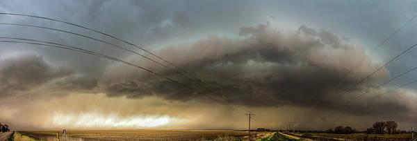 Photograph - Early April Nebraska Thunderstorms 007 by NebraskaSC
