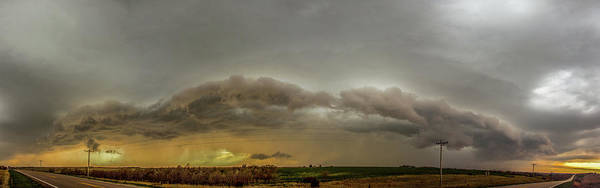 Photograph - Early April Nebraska Thunderstorms 015 by NebraskaSC