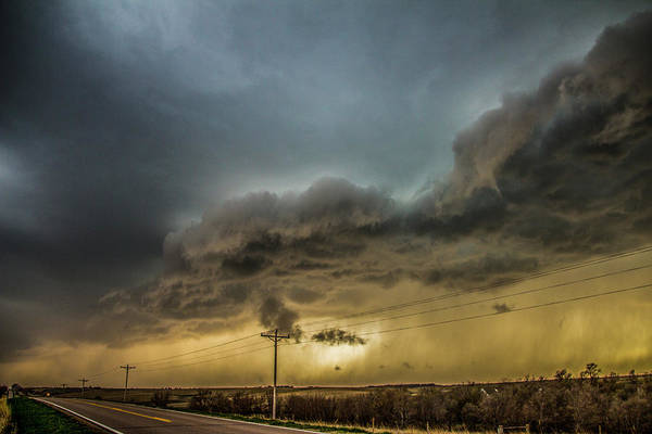 Photograph - Early April Nebraska Thunderstorms 016 by NebraskaSC