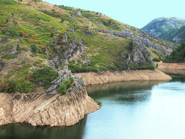 David Weber Photograph - Early Autumn On Causey Reservoir by David King