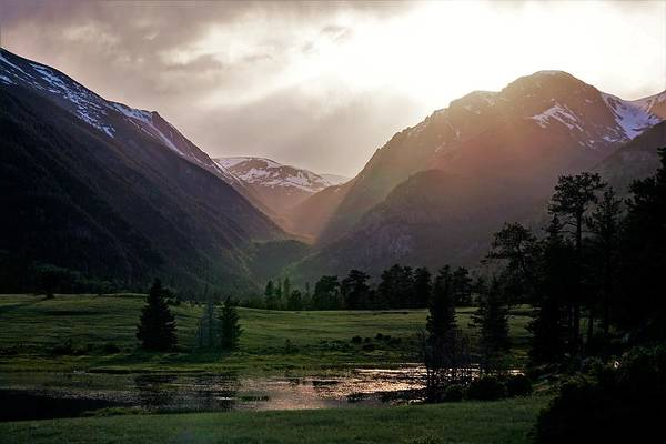 Photograph - Early Evening Light In The Valley by Tranquil Light Photography