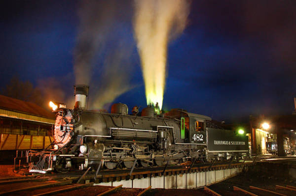 Wall Art - Photograph - Early Evening On The Turntable by Ken Smith