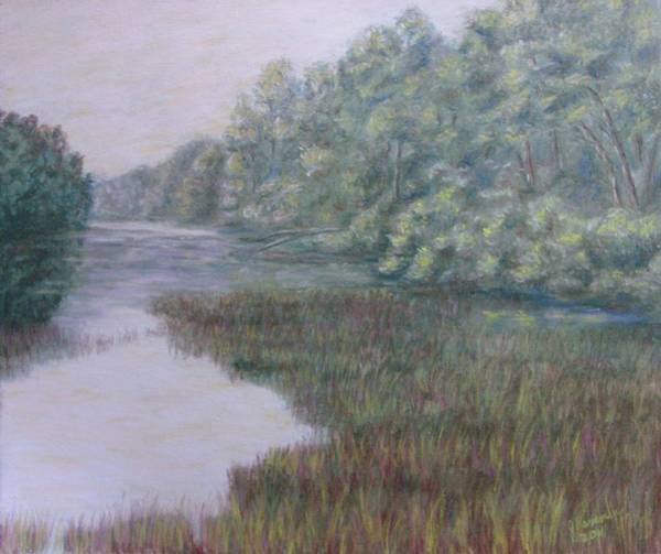 Wall Art - Pastel - Early Fall Serenity by Joann Renner