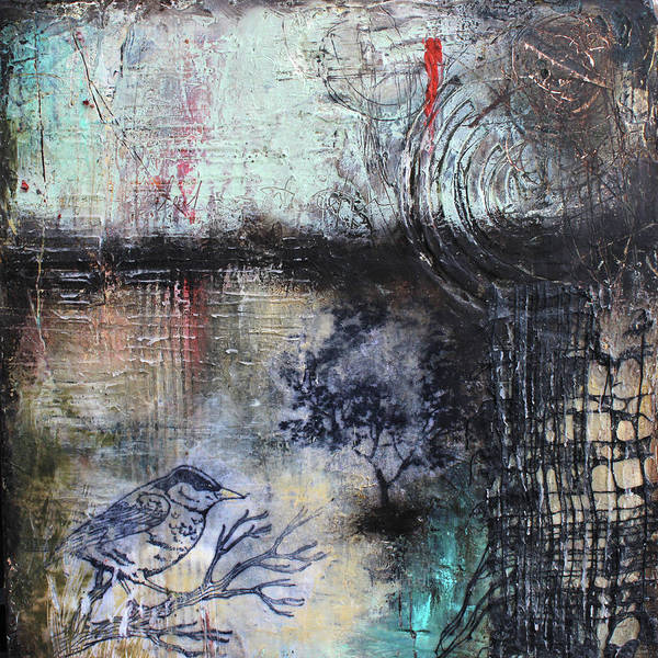 Art Paper Mixed Media - Early Flight by Patricia Lintner