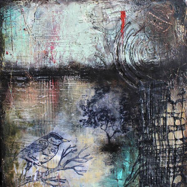 Wall Art - Mixed Media - Early Flight by Patricia Lintner
