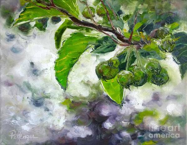 Painting - Early Fruits by Lori Pittenger