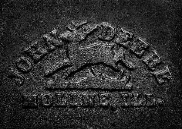 Early John Deere Emblem Art Print