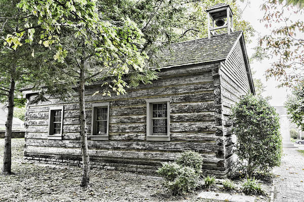 Photograph - Early Meeting House by Sharon Popek