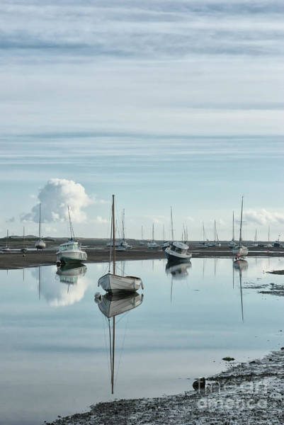 Wall Art - Photograph - Early Morning At Brancaster Staithe Norfolk Uk by John Edwards