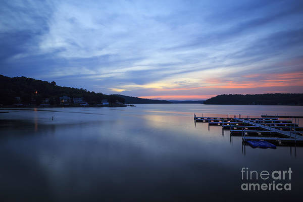 Missouri Ozarks Photograph - Early Morning At Lake Of The Ozarks by Dennis Hedberg