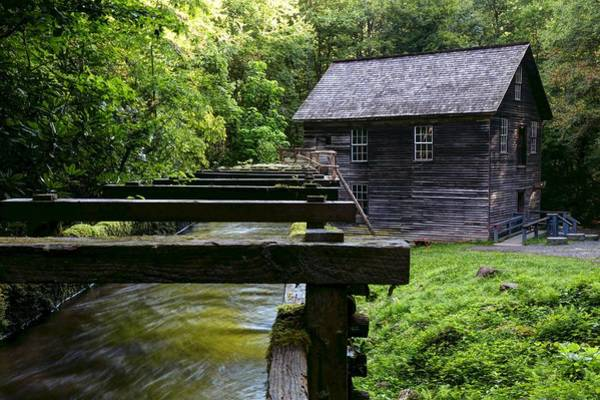 Photograph - Early Morning At Mingus Mill In The Great Smoky Mountain National Park by Carol Montoya
