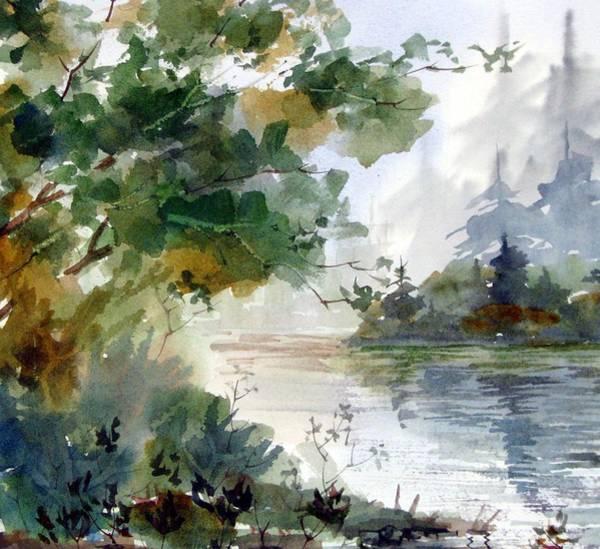 Early Morning Art Print by Chito Gonzaga