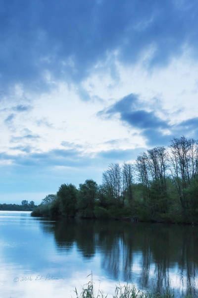 Photograph - Early Morning Cloud Cover by Edward Peterson