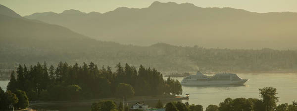 Photograph - Early Morning Cruise Ship Arrival by Ross G Strachan