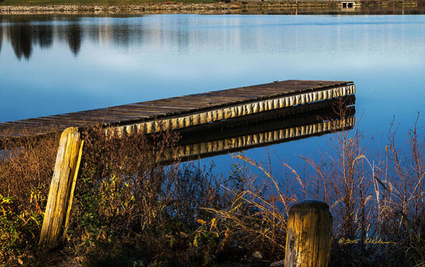 Photograph - Early Morning Dock by Edward Peterson