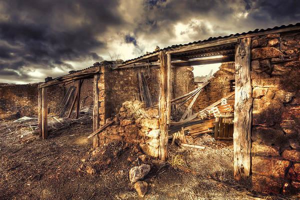 Wall Art - Photograph - Early Morning - Farm by Wayne Sherriff