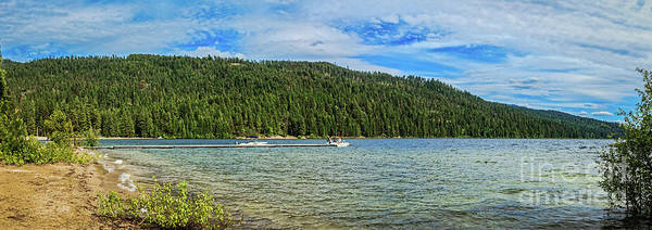 Priest Lake Photograph - Early Morning Fisherman by Robert Bales