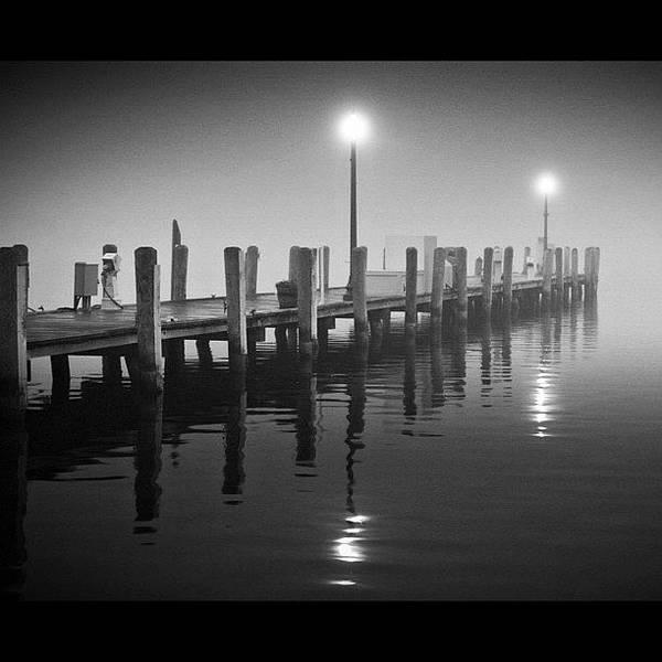 Wall Art - Photograph - Early Morning Fog In Lake Geneva by Aran Ackley