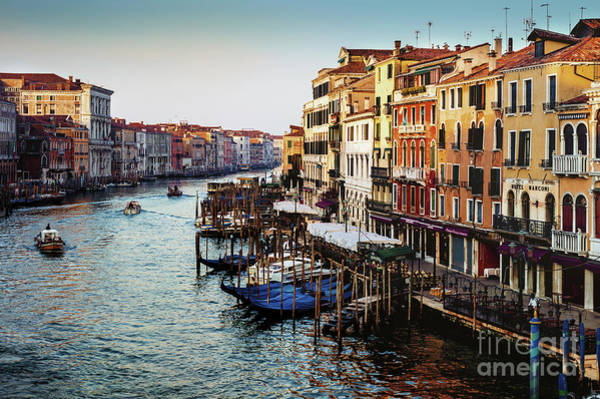 Photograph - Early Morning Grand Canal by Miles Whittingham