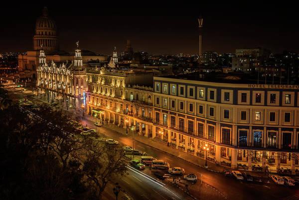 Photograph - Early Morning Havana Cuba by Joan Carroll
