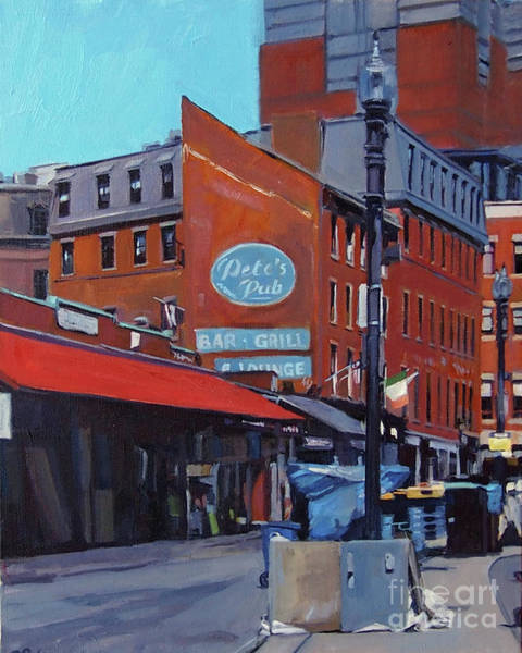 Painting - Early Morning In Haymarket by Deb Putnam