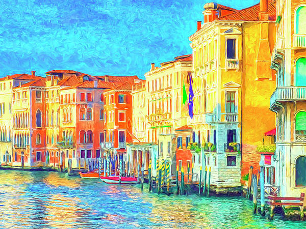 Painting - Early Morning In Venice by Dominic Piperata