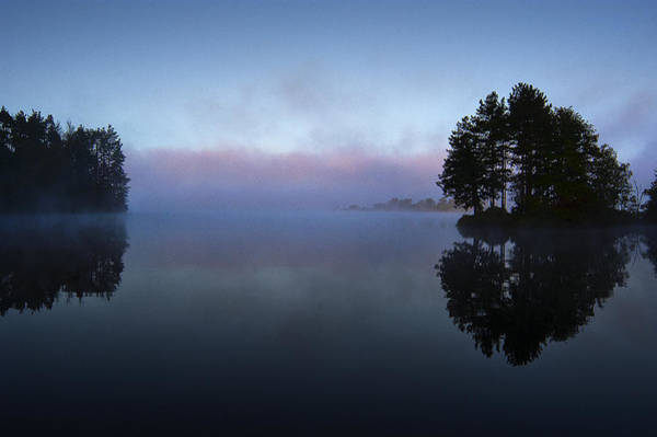 Digital Art - Early Morning Lake Nimisila by Dick Pratt