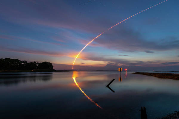 Photograph - Early Morning Launch by M C Hood