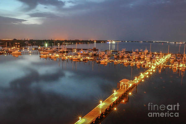 Photograph - Early Morning Marina by Tom Claud