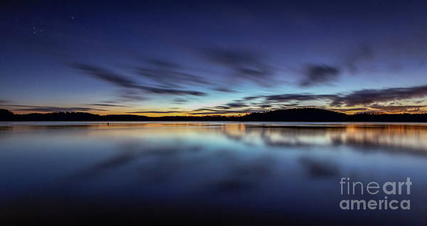Photograph - Early Morning On Lake Lanier by Bernd Laeschke