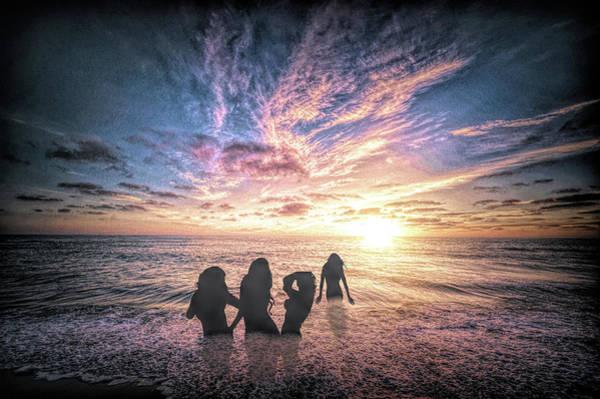 Photograph - Early Morning Swim by Ericamaxine Price