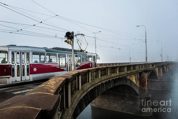 Photograph - Early Morning Tram 2 by M G Whittingham