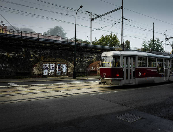 Photograph - Early Morning Tram by M G Whittingham