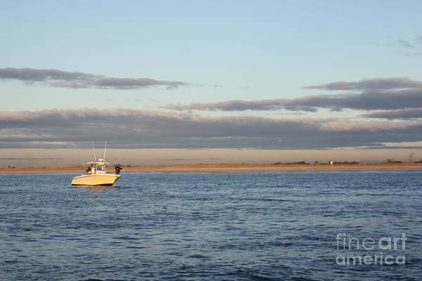 Wall Art - Photograph - Early Morning Trolling For Striped Bass by John Telfer