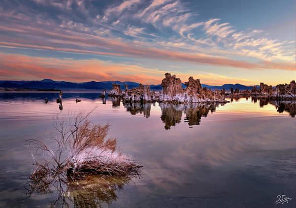 Photograph - Early Morning Tufa 2 by Endre Balogh